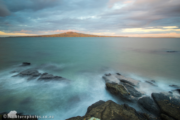 Glowing Rangitoto
