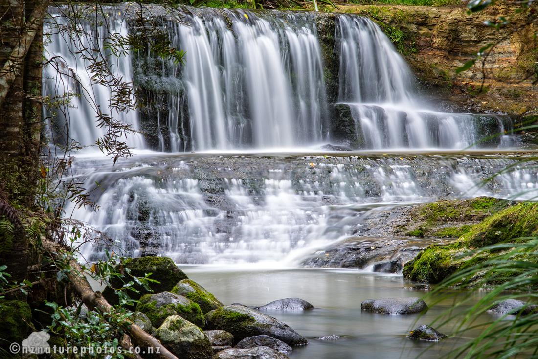 Waterfall at Omeru Reserve